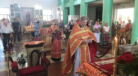 Престольный праздник в день памяти великомученика и целителя Пантелеймона